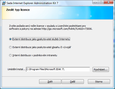 Internet Explorer 7 Administration Kit