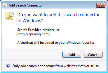 Windows 7 Search Connector