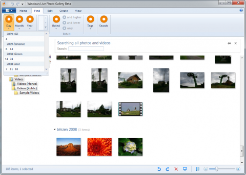 Windows Live Photo Gallery Wave 4