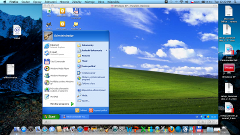Parallels Desktop 6 - Windows XP
