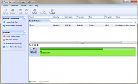 Aomei Disk Manager