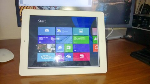 iPad, Air Display a Windows 8