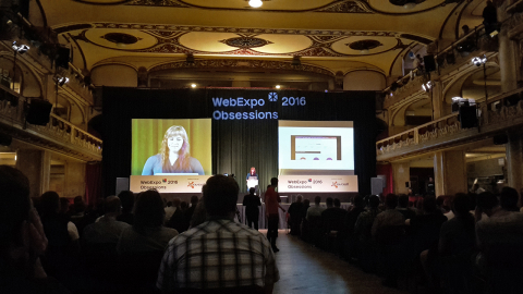 Marcy Sutton na WebExpo 2016